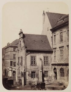 Berlin's medieval townhall in the 19th century