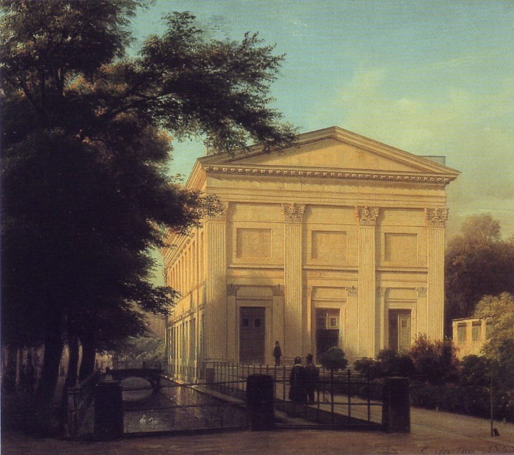 The Singakademie building in 1843