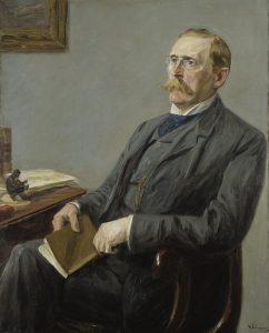 Portrait of Museum founder, Wilhelm von Bode by Max Liebermann