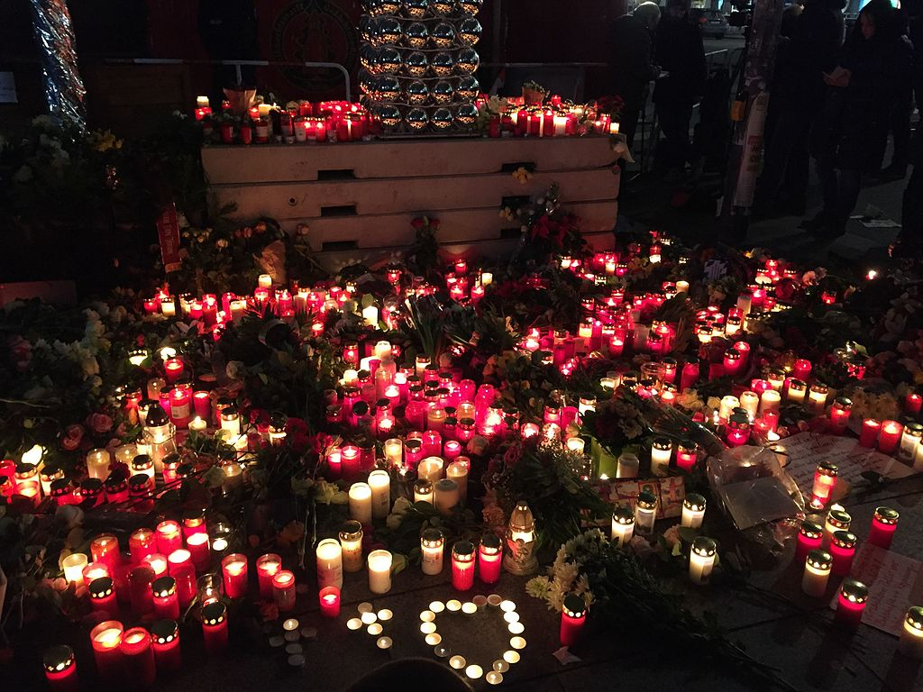 Tributes paid to the victims of the Christmas Market attack