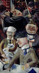 George Grosz is one of the featured artists in the New National Gallery's collection